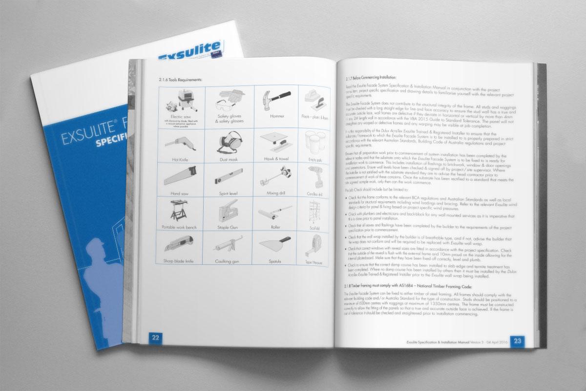 Exsulite Installation Manual