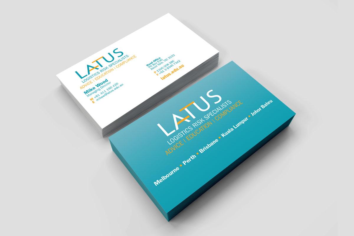 Latus Business Cards