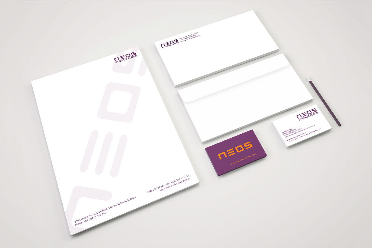 Neos Productions Branding