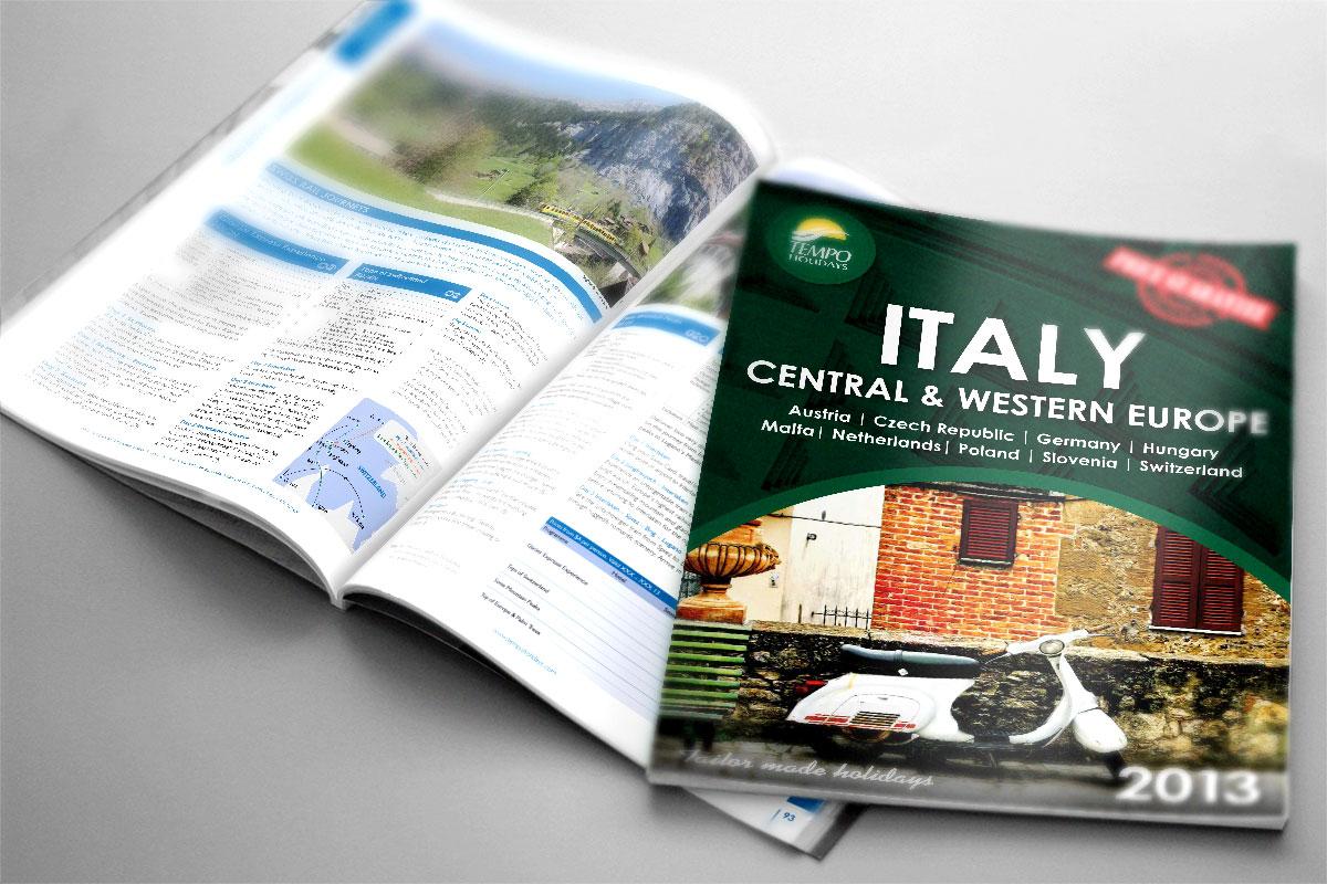 Tempo Holidays Italy Brochure