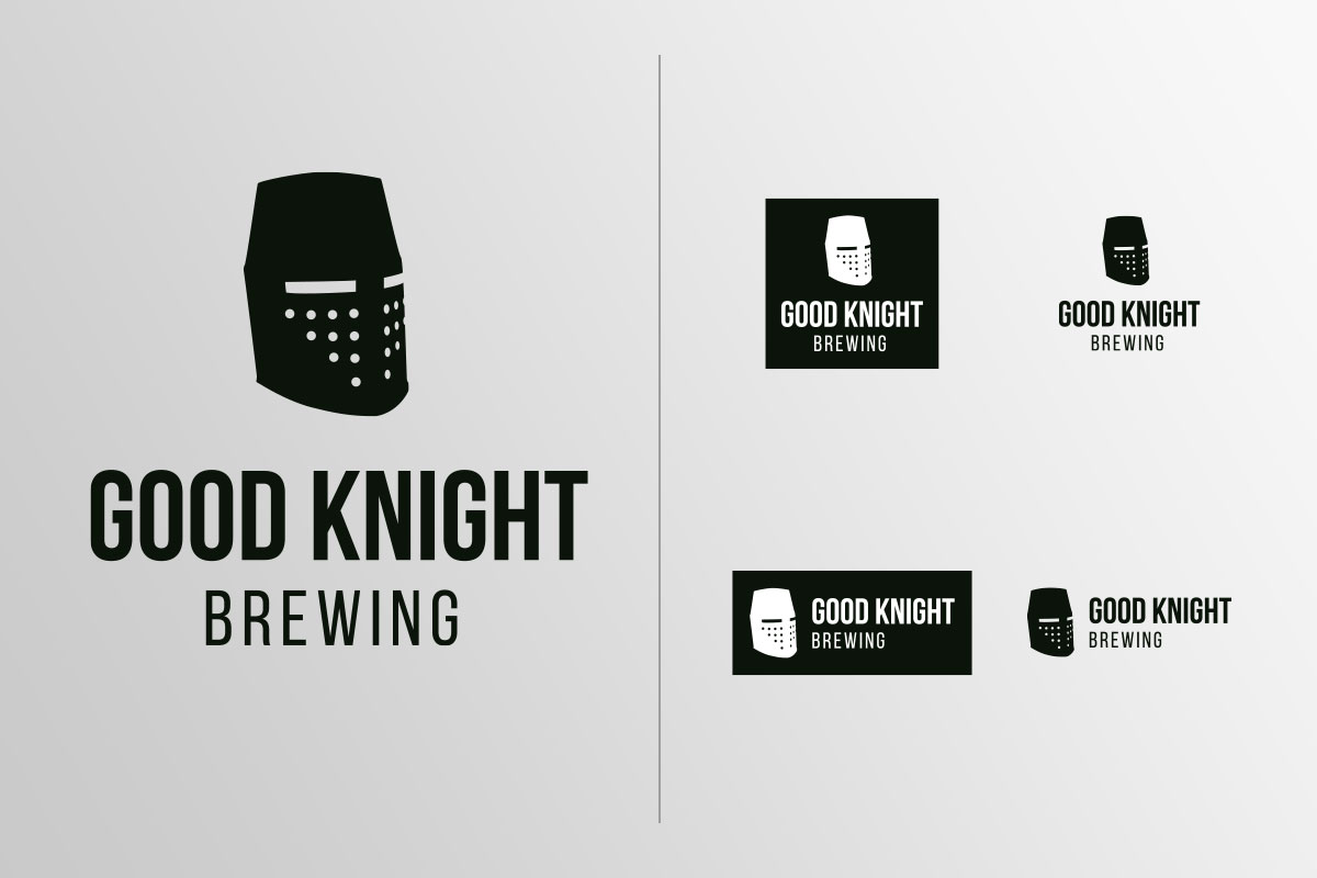 Good Knight Brewing Logos