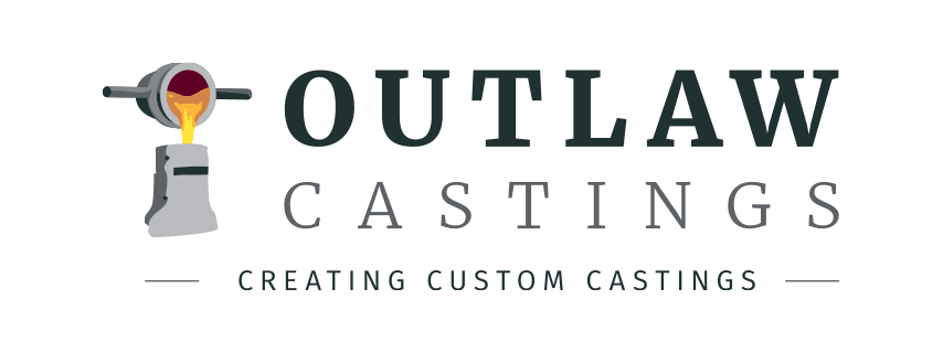 Outlaw Castings Logo With Slogan